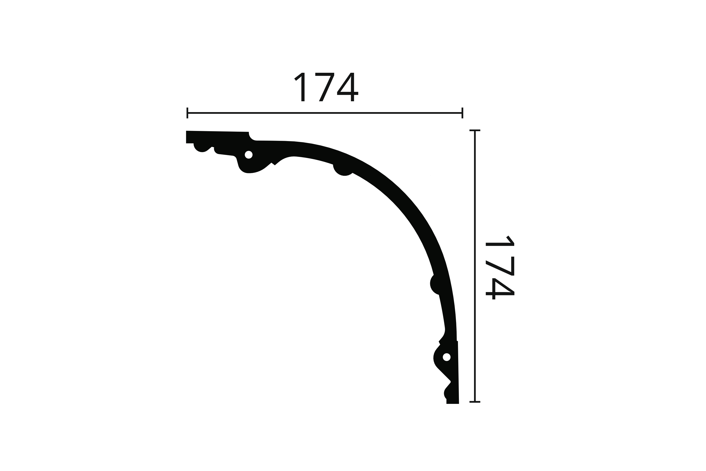 NMC Arstyl Moulure Z40 Polyur/éthane